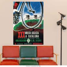 Catalonia Spain Xxx Cycling Wall Decal At Retro Planet