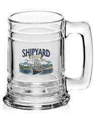 15 oz libbey maritime glass beer mugs