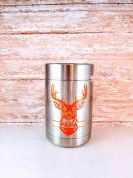 Valentine S Personalized Gift Deer Decal Yeti Buck Decal Etsy