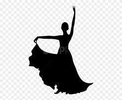 free png spanish dancer silhouette png
