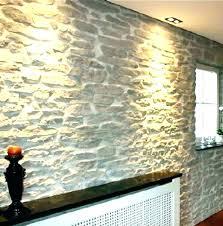 interior rock wall panels faux stone