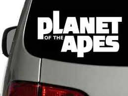 Planet Of The Apes Vinyl Decal Car Wall Window Sticker Choose Size Color Ebay
