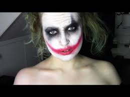 easy joker heath ledger makeup