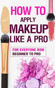 how to apply makeup like a pro book
