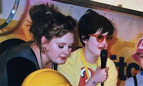 Throwback photo of Adele and Kelly Osbourne on Instagram | HELLO!