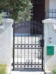 Wrought Iron Gates Securing Your Home In Style Smart Home Iron Gate Design Iron Garden Gates Wrought Iron Garden Gates