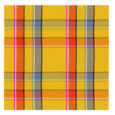 Summer Plaid 1 Tapestry - Textile by Wesley Robinson
