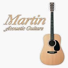 Amazon Com Martin Acoustic Guitars Vinyl Waterproof Sticker Decal Car Laptop Wall Window Bumper Sticker 5 Automotive