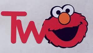 12 Elmo Vinyl Stickers Sesame Street Birthday Sesame Street Etsy