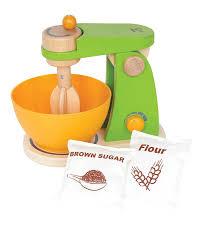 wooden food mixer wooden play kitchen