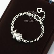 Lắc bạc cho bé hình con chó dễ thương LTT0019 - Trang Sức TNJ