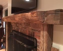 reclaimed wood mantels near asheville