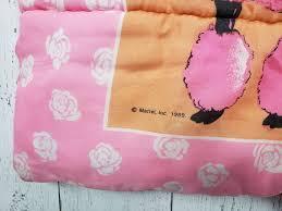vintage 80s barbie sleeping bag single