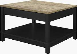coffee table black large cocktail table