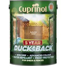 Cuprinol Ducksback Timbercare Paint