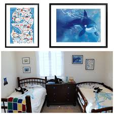 The Coolest Whale And Lego Kids Bedroom