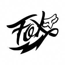 Fox Racing Flash Vinyl Decal Sticker Ballzbeatz Com Fox Decal Fox Racing Tattoos Fox Racing Logo