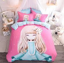 bedding sets princess pink cover set