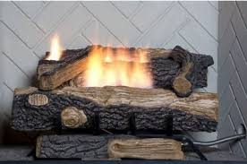 natural gas fireplace insert fake faux