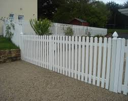 Pvc Picket Fencing Frs Fencing