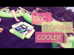 diy floating drink cooler you