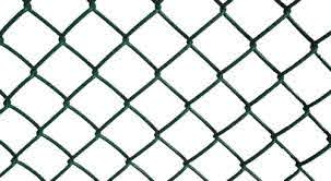Green Vinyl Coated Chain Link Fence Link Fence Poultry Chain Link Fencing च न ल क फ स ग Shiva Udyog Delhi Id 12993700697