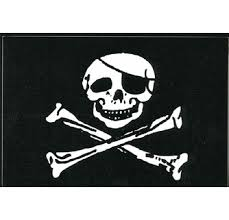 Jolly Roger Flag Decal Stickers