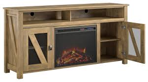 hinson fireplace tv stand 48