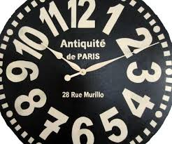 murillo extra large wall clock