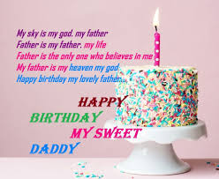 happy birthday dad sms in english wishes for daddy shayari quotes