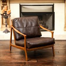 incredible small leather armchair foter