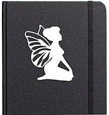 Amazon Com Fairy With Wings Cute Vinyl Decal Car Phone Helmet Select Size Automotive
