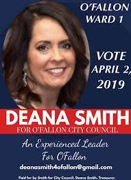 Deana Smith, O'Fallon City Council Ward 1 | Facebook