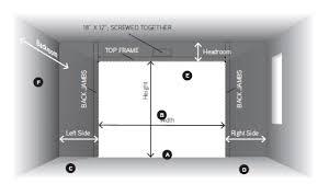 garage doors door height for rvs and