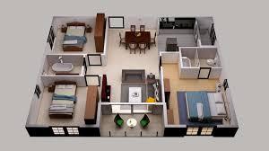 house game simple floor plan