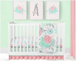 girl nursery bedding set fl baby