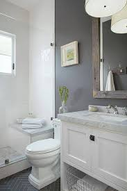 awesome bathroom ideas grey and white