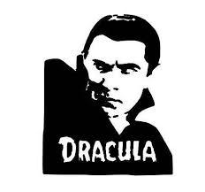 Dracula Vampire Horror Halloween Vinyl Car Decal Bumper Window Vinyl Decals Halloween Vinyl Car Decals Vinyl