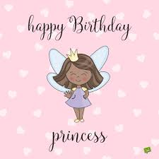 happy birthday princess messages of pure love
