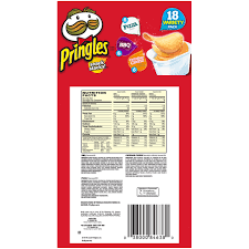 pringles snack stacks pizza bbq