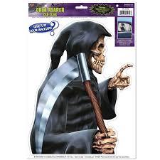 The Holiday Aisle Gaillard Grim Reaper Car Cling Window Sticker Wayfair