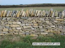 how to build dry stone walls explain