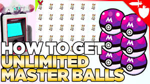 How to Get Unlimited Master Balls & X-Mas Trading in Pokemon Sword ...