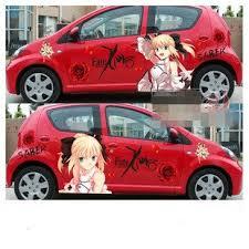 New Hot Anime Car Stickers Fate Stay Japanese Anime Girl Anime Wall Sticker Sticker Umbrellasticker Generator Aliexpress