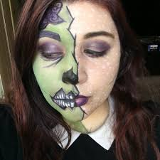 zombie makeup with regular cosmetics