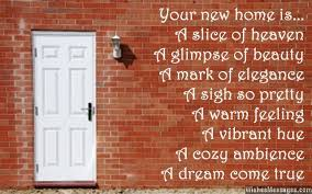 best wishes quotes for new house