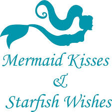 Mermaid Kisses Starfish Wishes Fairytale Silhouette Bedroom Decor Custom Wall Decal Vinyl Sticker 7 Inches X 10 Inches Walmart Com Walmart Com