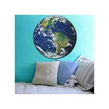 Amazon Com Planet Earth Wall Decal Available In Various Sizes Handmade