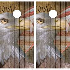Avgrafx 3m Vinyl Cornhole Wrap Decal Distressed Wood Eagle We People 2 Laminated Decals Only Buy Products Online With Ubuy Lebanon In Affordable Prices B07pnrlz9b