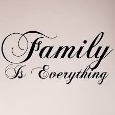 36 Family Is Everything Wall Decal Decor Words Large Sticker Kitchen Home For Sale Online